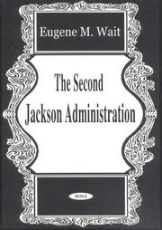 Cover of: The second Jackson administration