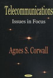 Cover of: Telecommunications | Agnes S. Corwall