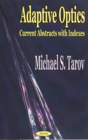 Cover of: Adaptive Optics | Michael S. Tarov