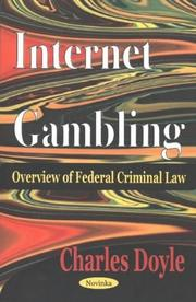 Internet Gambling by Charles Doyle