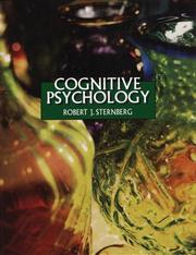 Cover of: Cognitive psychology | Robert J. Sternberg