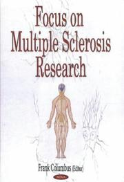 Cover of: Focus on multiple sclerosis research