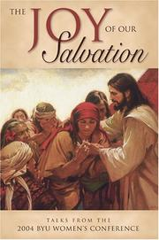 Cover of: The joy of our salvation | Women