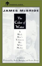 The Color of Water (November 9, 2001 edition) | Open Library