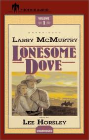 Cover of: Lonesome Dove Vol. 1