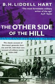 Cover of: The Other Side of the Hill (Pan Grand Strategy)
