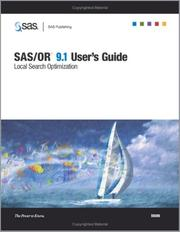 Cover of: SAS/OR 9.1 User