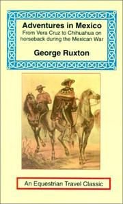Cover of: Adventures in Mexico (Equestrian Travel Classics) | George Ruxton