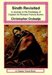 Cover of: Sindh Revisited | Christopher Ondaatje