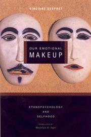 Cover of: Our Emotional Make-Up | Vinciane Despret