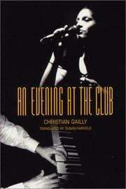 Cover of: An evening at the club