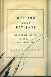 Cover of: Writing About Patients