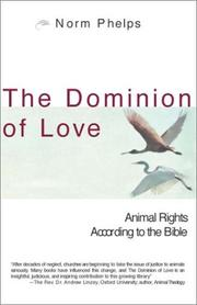 Cover of: The Dominion of Love | Norm Phelps