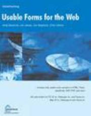 Usable Forms for the Web by Jon Stephens, Andy Beaumont, Jon James, Chris Ullman