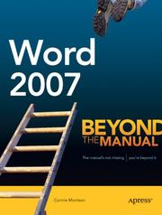 Cover of: Word 2007: Beyond the Manual
