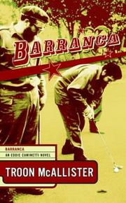 Cover of: Barranca (Eddie Caminetti Novels)
