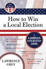 Cover of: How to Win a Local Election