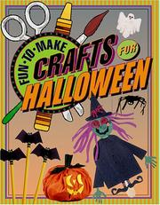Cover of: Fun-to-make Crafts for Halloween | Tom Daning