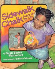 Cover of: Sidwalk Chalk: Poems of the City