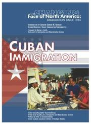 Cover of: Cuban immigration | Roger E. HernaМЃndez