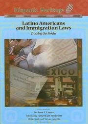 Cover of: Latino Americans And Immigration Laws |