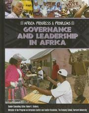 Cover of: Governance and leadership in Africa
