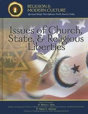 Issues of church, state & religious liberties