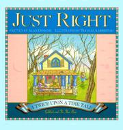 Cover of: Just Right: A Twice upon a Time Tale
