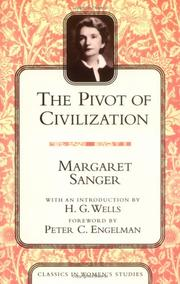 Cover of: The Pivot of Civilization