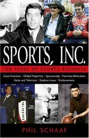 Cover of: Sports, Inc