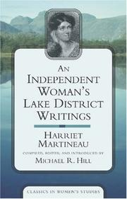 Cover of: An independent woman's Lake District writings by Martineau, Harriet