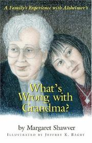 Cover of: What's Wrong With Grandma?