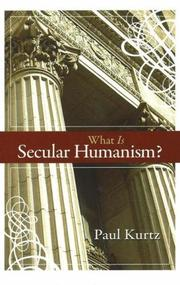 Cover of: What is secular humanism?