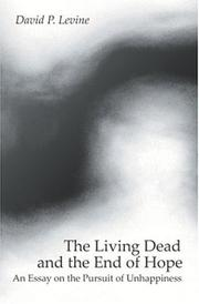 Cover of: The Living Dead and the End of Hope
