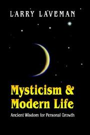 Cover of: Mysticism and Modern Life | Larry Laveman