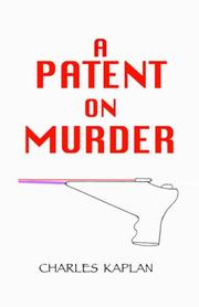 Cover of: A Patent on Murder