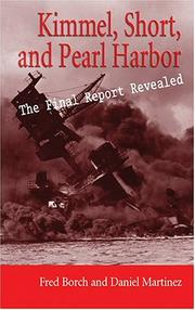 Cover of: Kimmel, Short, and Pearl Harbor | Frederic L. Borch