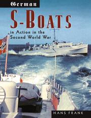 Cover of: German S-Boats in Action | Hans Frank