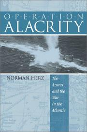 Cover of: Operation Alacrity