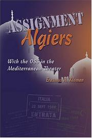 Assignment Algiers by Erasmus H. Kloman