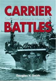 Cover of: Carrier Battles