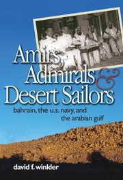 Cover of: Amirs, Admirals, and Desert Sailors