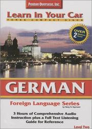 Cover of: German Level Two (Learn in Your Car)