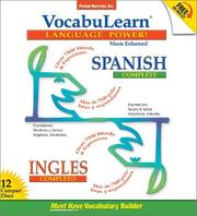 Cover of: Vocabulearn Spanish/Ingles Complete (Vocabulearn Music-Enhanced)