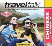 Cover of: Lonely Planet Traveltalk Chinese Mandarin (Traveltalk)