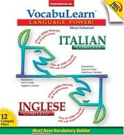 Cover of: Vocabulearn Language Power Italian/Inglese (Vocabulearn)