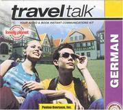 Cover of: Lonely Planet Traveltalk German (TravelTalk)