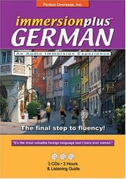 Cover of: Immersionplus German (Immersionplus)