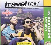 Cover of: Lonely Planet Traveltalk Brazilian Portuguese (TravelTalk)