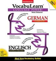 Cover of: Vocabulearn German/Englisch complete (Vocabulearn)
